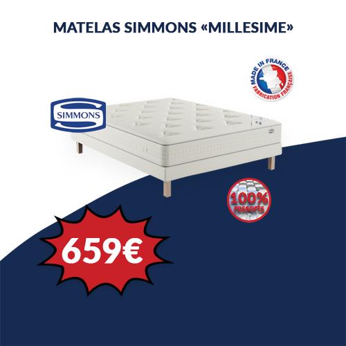 Matelas MILLESIME SIMMONS
