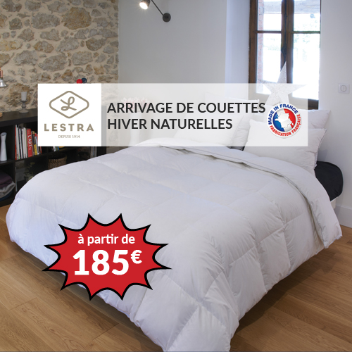 Couette LESTRA SOFTYNE 50% duvet