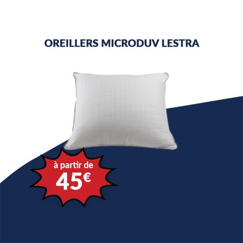 Oreillers MICRODUV LESTRA