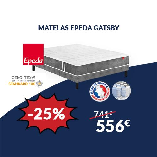 Matelas EPEDA GATSBY