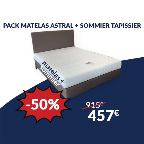 Pack Matelas ASTRAL + Sommier
